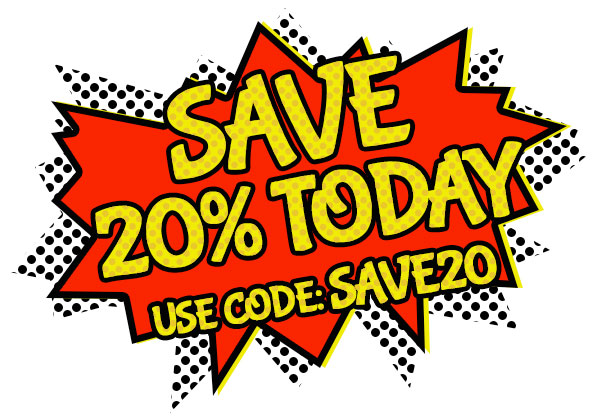 Save 20% Today
